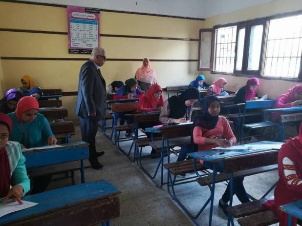 2 جانب من تفقد لجان الامتحانات بالبحيرة
