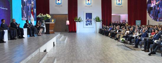 مؤتمر الشباب بمشاركة الرئيس السيسى (3)