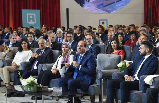 مؤتمر الشباب بمشاركة الرئيس السيسى (2)