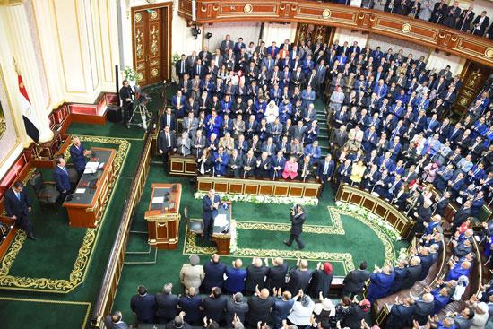 خطاب الرئيس السيسى أمام البرلمان (1)