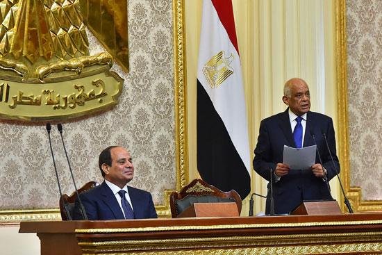 خطاب الرئيس السيسى أمام البرلمان (9)