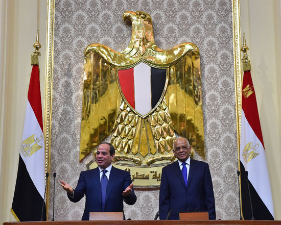 خطاب الرئيس السيسى أمام البرلمان (7)
