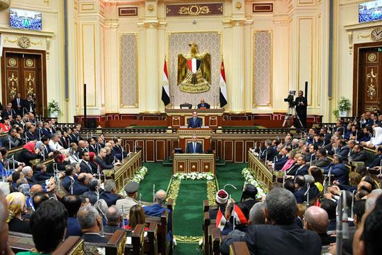 خطاب الرئيس السيسى أمام البرلمان (14)