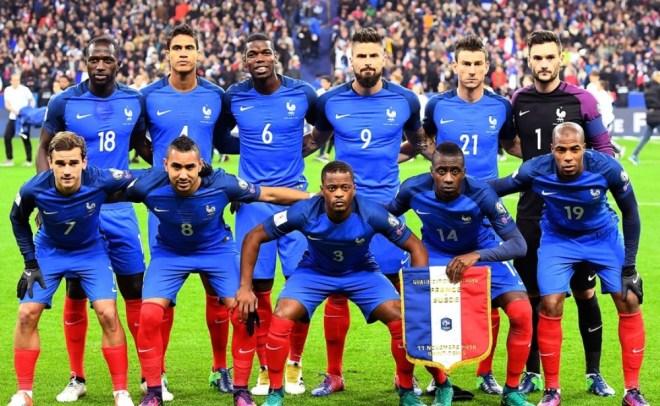 المنتخب الفرنسى