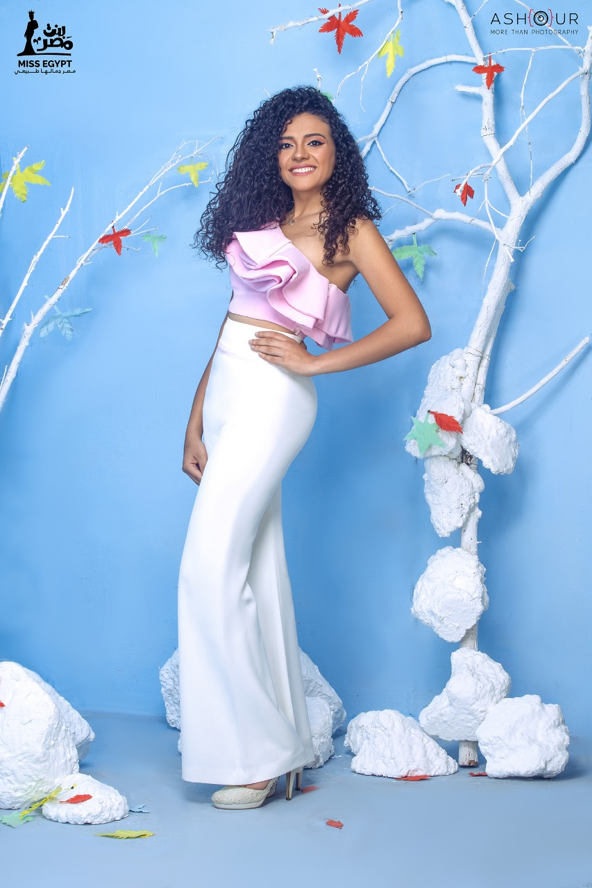 أول جلسة تصوير لمتسابقات Miss egypt (9)