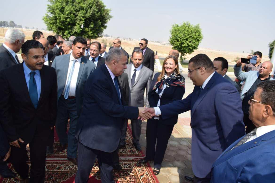 افتتاح مقر النيابة الإدارية فى مدينة العبور (10)