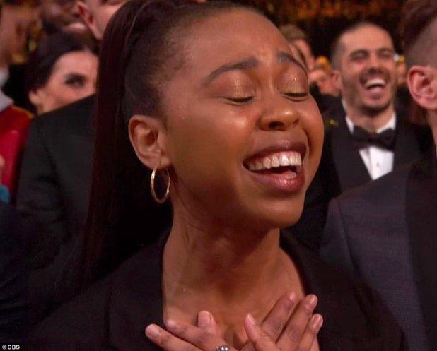 فرحة الجمهور بظهور ميشيل أوباما (2)