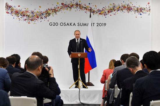 مؤتمر صحفى للرئيس الروسى