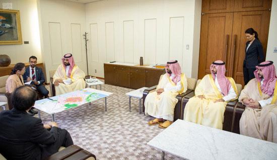 الأمير محمد بن سلمان يزور متحف هيروشيما التذكارى للسلام