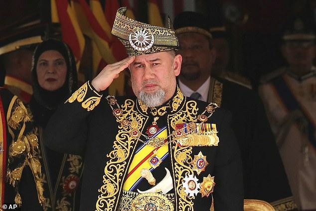 سلطان ماليزيا السابق محمد الخامس