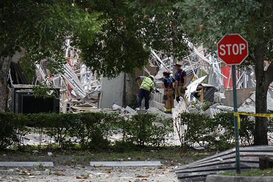 أثار الانفجار فى فلوريدا
