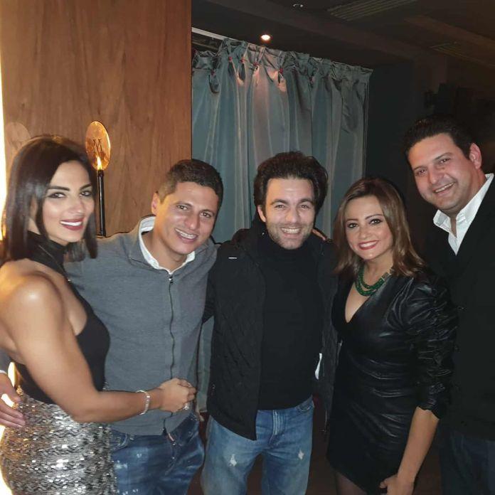 Bushra and Sherif Ramzy on Dora's birthday