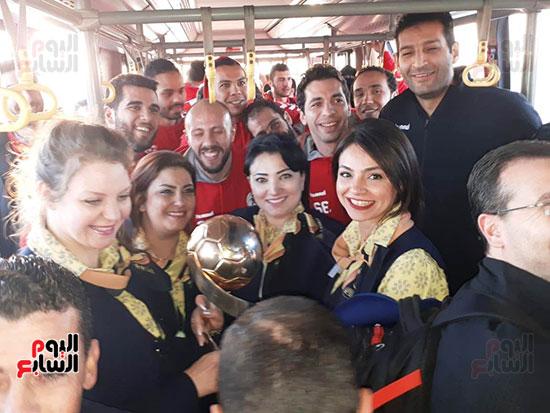 African Champions of Hand pray Cairo (2)