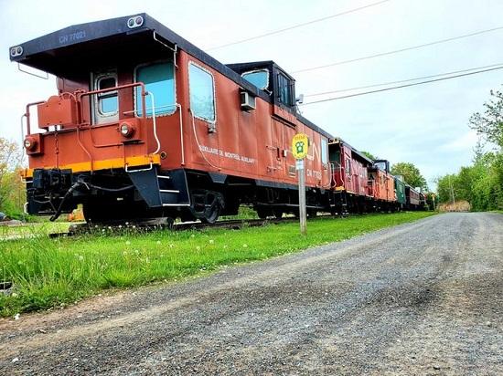 القطار بكندا