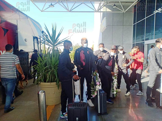 Al-Ahly mission arrives in Cairo from Morocco (5)