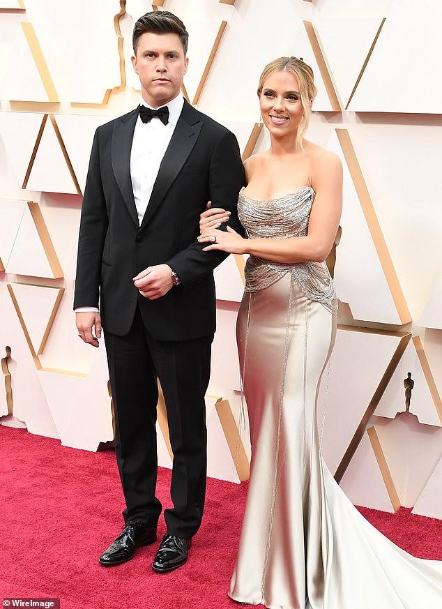 Scarlett Johansson and Colin Ghost