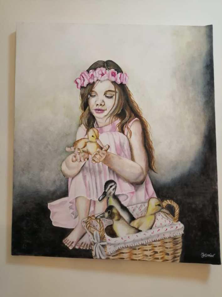 الأعمال الفنية للطبيبة ياسمين جلال (12)