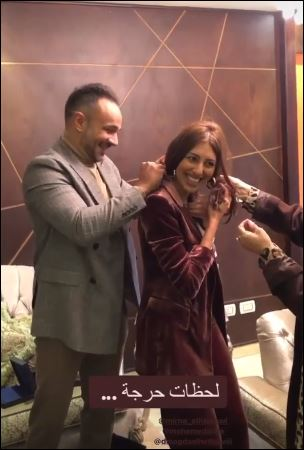 The engagement of Mirna Al-Helbawy and Mohamed Attia (5)