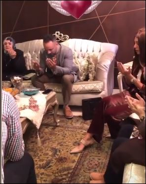 Mirna Al-Helbawy and Mohamed Attia get engaged (2)