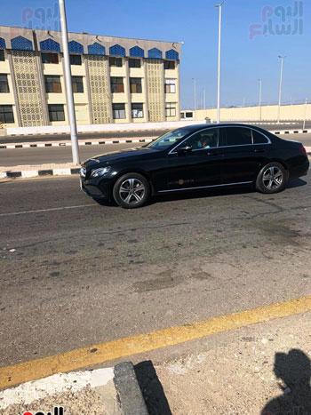 Mohamed Salah arrives at Hurghada International Airport (2)