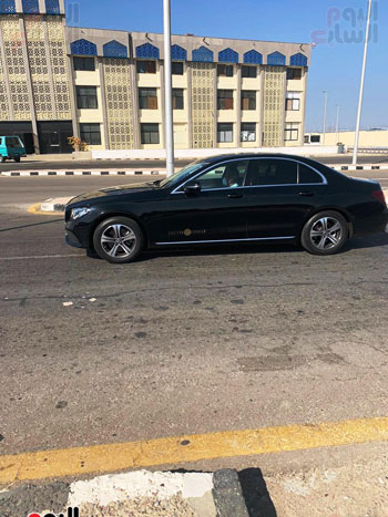 Mohamed Salah arrives at Hurghada International Airport (4)