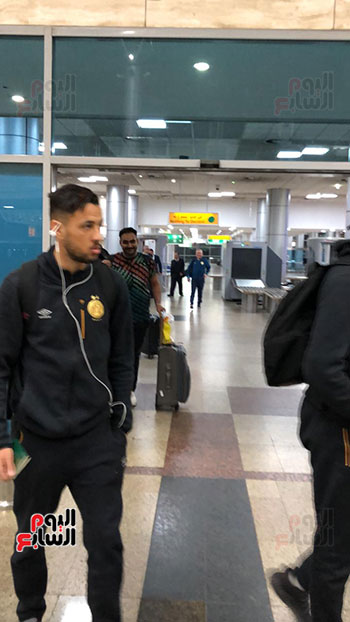 Tunisian Esperance arrives in Cairo (18)