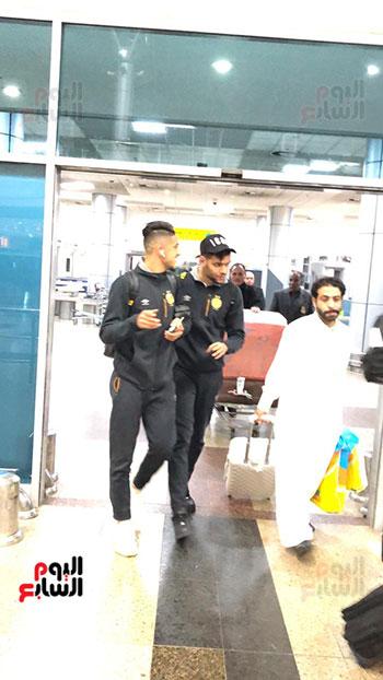 Tunisian Esperance arrives in Cairo (9)