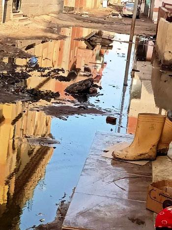 سكان شارع النجدة وقرية السعدية البحرية بدمياط (6)
