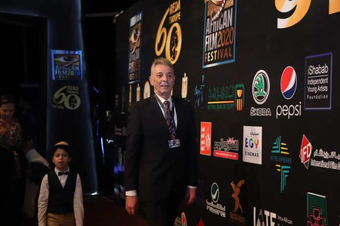 Mahmoud Hamidah sparkled in the suit