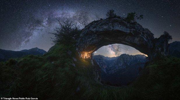 صور مجرة درب التبانة
