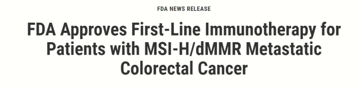 FDA approves cancer medicine