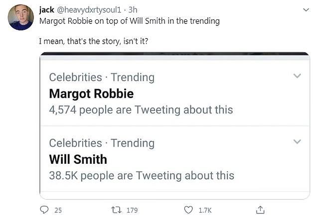 Margot Robbie Trend on Twitter