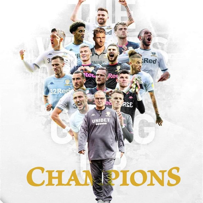 Officially … Leeds United is Champions League champion ...