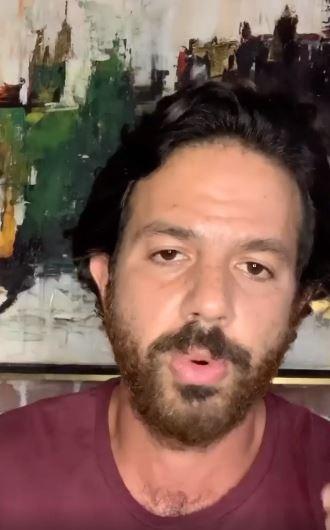 Omar El Shennawy in a new video clip