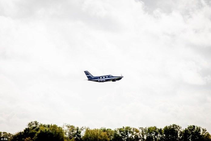 Hydrogen plane in the sky