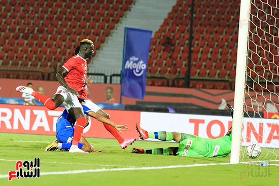 The first goal of Al-Ahly