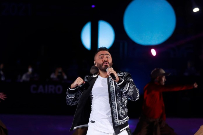 Tamer Hosni appears in the wonderful opening of the Handball World Cup (6)