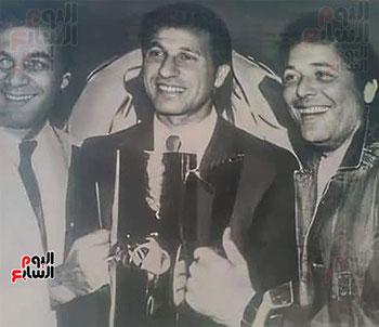 Mahmoud Yassin, Al-Khatib and Mahmoud Abdel Aziz