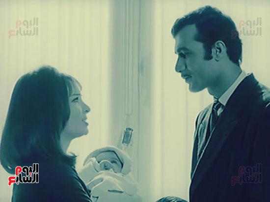 Mahmoud Yassin and Shadia