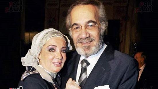 Mahmoud Yassin and his wife Mushira