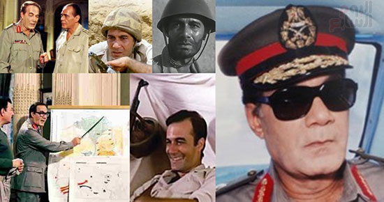 Mahmoud Yassin performed many roles on the October 6 war
