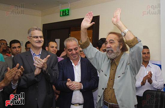 Mahmoud Yassin's Symposium at the Alexandria Festival