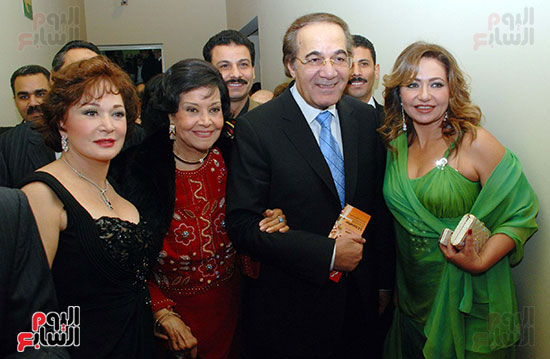 Mahmoud Yassin at one of the festivals