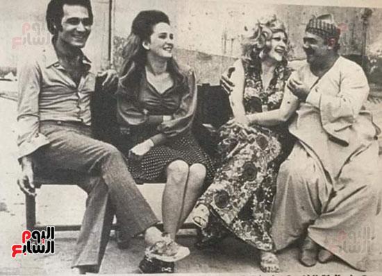 Mahmoud Yassin, Naglaa Fathy and Hoda Sultan