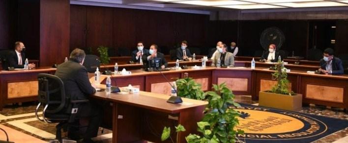 اجتماع رئيس الرقابة المالية مع ممثلي صناديق الاستثمار