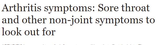 Still's disease is a type of arthritis