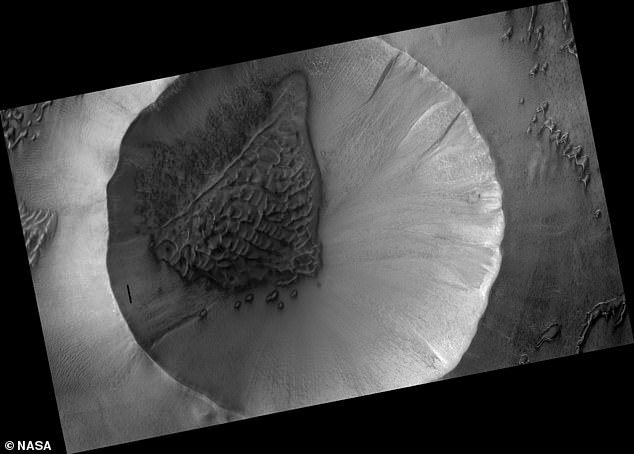 Mars from the orbiter