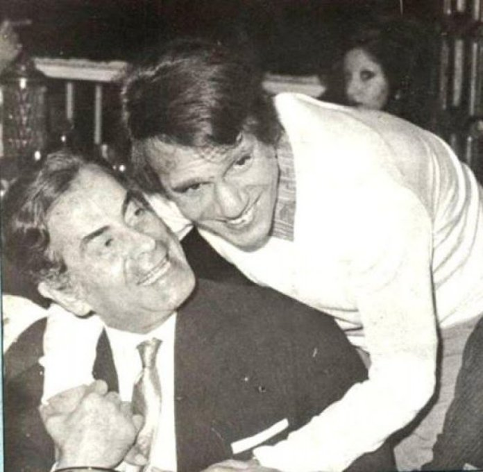 Abdel Halim Hafez and Farid Al-Atrash