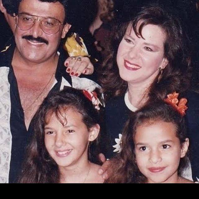 The family of Samir Ghanem