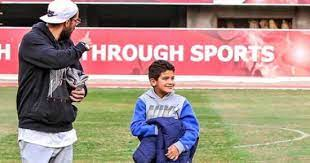 Sherif Ekrami and his son Yassin
